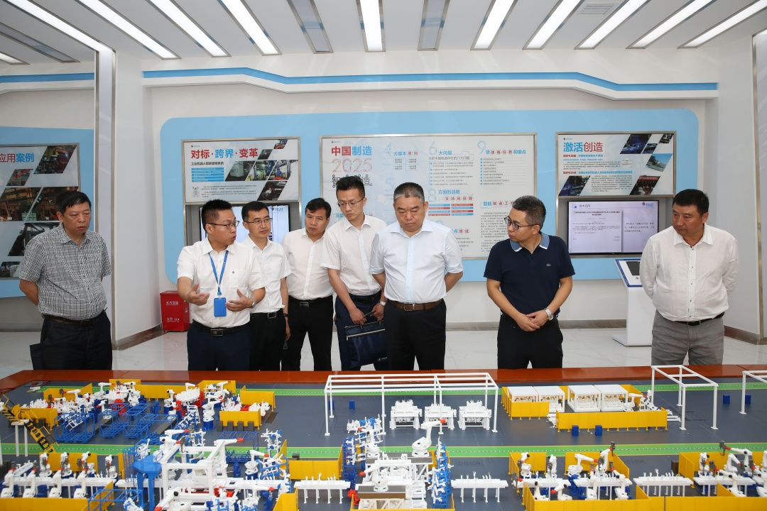 Lu Bin, deputy general manager of Xinhua International Group visited Zhongnan Intelligent Investigation